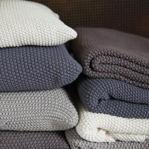 Blankets, socks and cushions