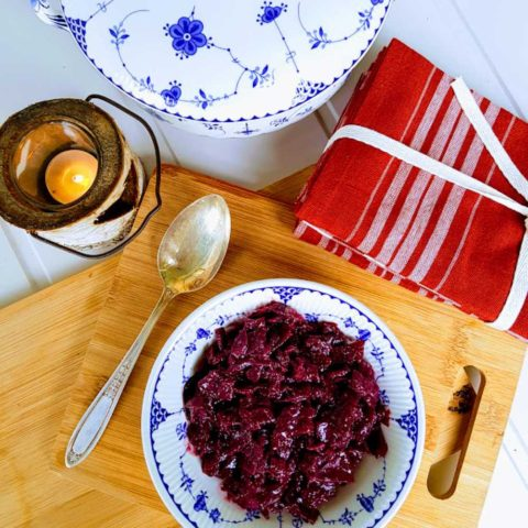 easy Danish rodkal red cabbage recipe