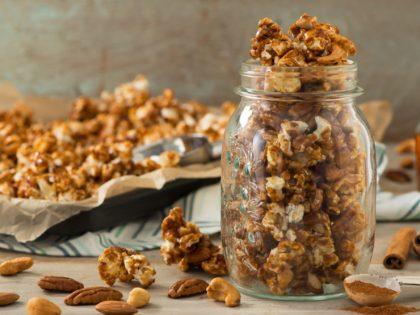 Autumn Cinnamon And Maple Popcorn Recipe