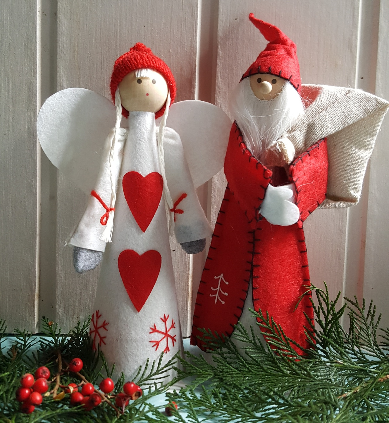 wooden p clara cm decor by claus decorations santa shop collection christmas exclusive bojesen mrs a figurines kay
