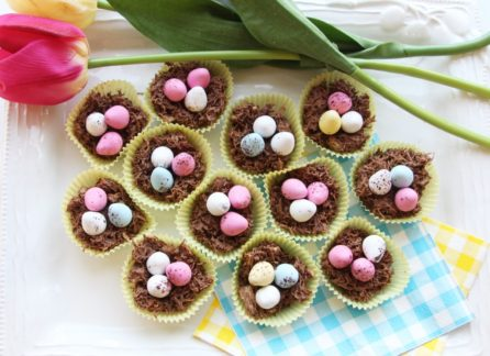 easy chocolate Easter-Nests Recipe-1024x743