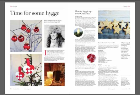 becci coombes etc magazine how to hygge