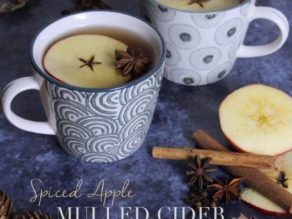 Mulled cider for cold nights!