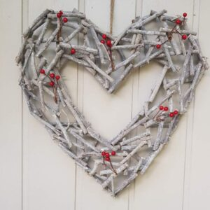 Wreaths, garlands and candle rings