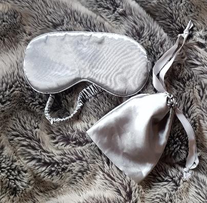 hyggestyle grey silk eyemask sleep