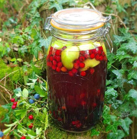 hedgerow schnapps recipe liqueur